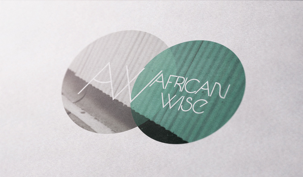 logo design and graphic design branding for African Wise made by Poppyonto