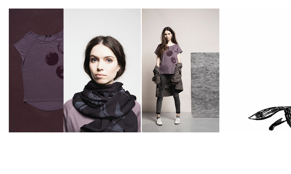 Campaign photography for the Dutch fashion brand Paala made by Poppyonto
