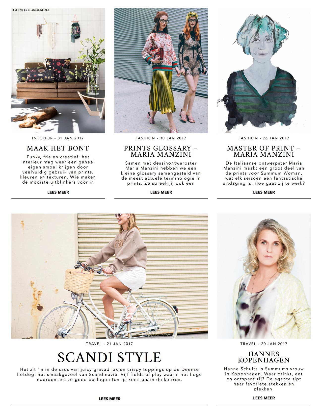 design Summum Woman blog The Style Edit