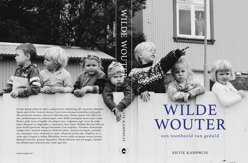 poppyonto - een boekje open Silvie Kamphuis biografie - opmaak layout grafisch ontwerp boek omslag cover