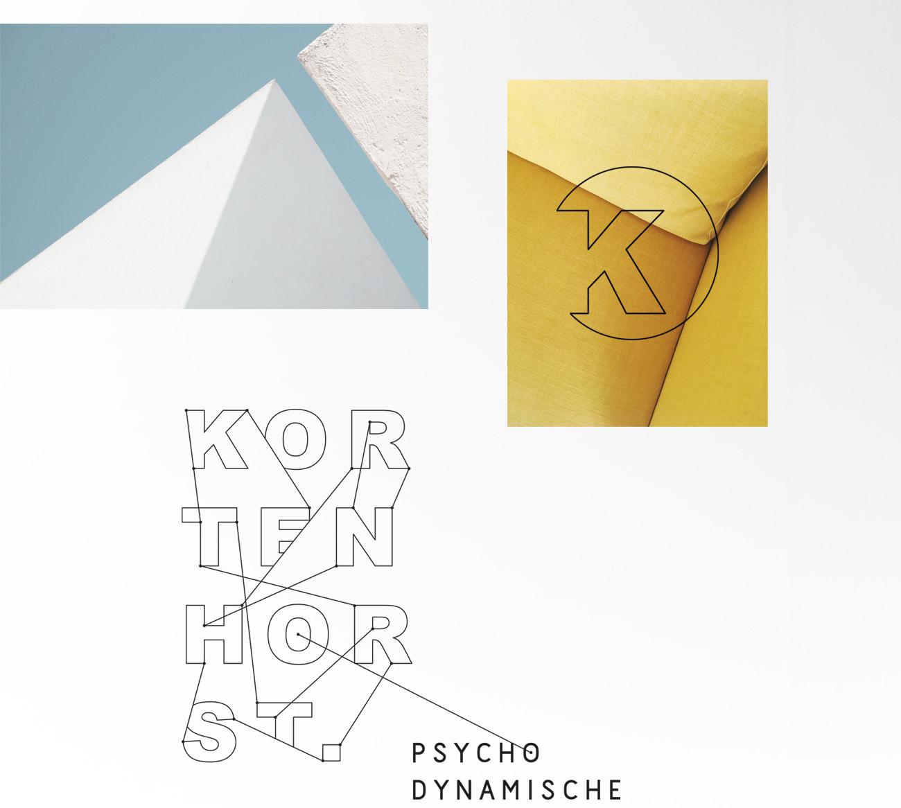 logo design branding and visual identity for Lisa Kortenhorst design by Poppyonto
