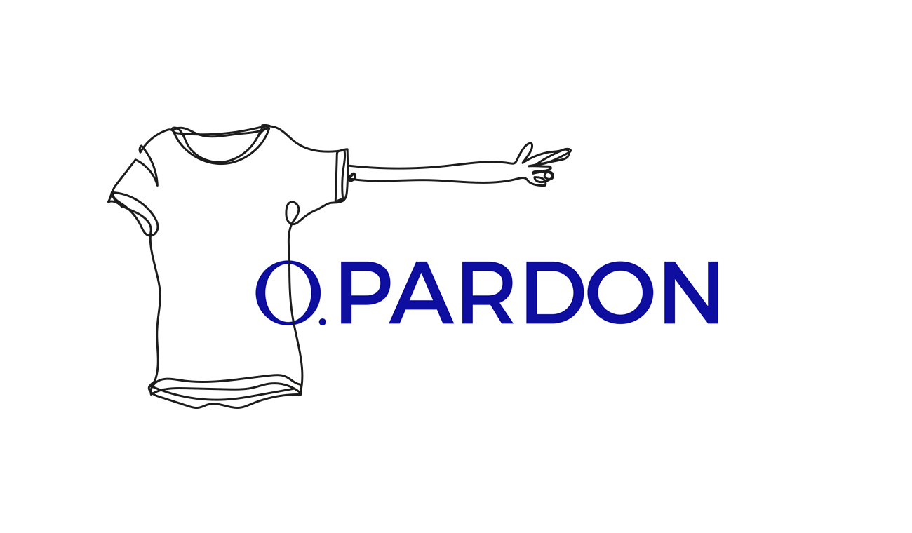 illustration fine line drawing for O Pardon made by Poppyonto